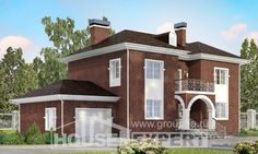 180-006-L Two Story House Plans with garage in front, best house Construction Plans
