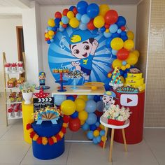 check out 37 decorating ideas - Birthday FM : Home of Birtday Inspirations, Wishes, DIY, Music & Ideas Souvenir Display, Personalised Sweets, Paw Patrol Party, Pajama Party, Childrens Party, Birthday Photos, 2nd Birthday Parties, Holidays And Events, Birthday Decorations