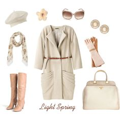 The Light Spring winter wardrobe