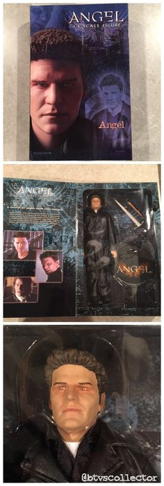 "Sideshow Collectibles (1:6 Scale) 12"" Angel Figure - 'City of Angel' Angel  #btvscollector #btvs #buffy #buffythevampireslayer"