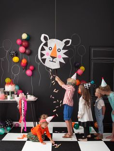 The Party Scene | Playful, a kid's craft book by Merrilee Liddiard | the house that lars built