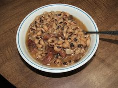 Cooking with Tammi: Black Eye Peas and Ham