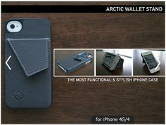 Arctic 3-in-1 iPhone Case/Wallet/Stand