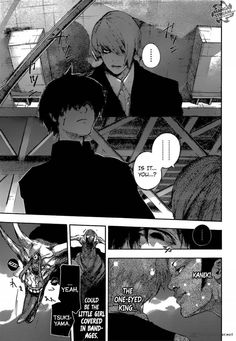 Tokyo Ghoul:re 54 - Page 9 his hair turned black again