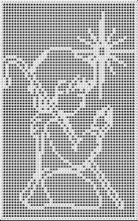 Vintage Crochet Doily Pattern, Crochet Border Patterns, Crochet Doilies, Afghan Patterns, Crochet Angels, Crochet Cross, Thread Crochet, Filet Crochet Charts, Knitting Charts