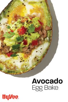 Our Avocado Egg Bake recipe is packed with healthy fats to keep you on track with your Keto diet. Avocado Egg Bake, Mashed Avocado, Dinner Options, Homemade Breakfast, Baked Eggs, Fresh Lime Juice, Healthy Fats, Fiber, Brunch