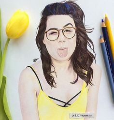 Drawing of Dodie
