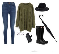 """rainy day"" by denisahad ❤ liked on Polyvore featuring J Brand, Chicwish and Sole Society"
