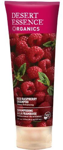 Free of all toxins, parabens, phthalates and no artificial anything -- but still a great, color safe shampoo. Desert Essence Organics Hair Care Shampoo, Red Raspberry, 8 Ounce