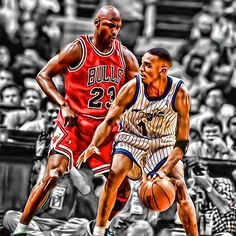#MJ23 Guarding Penny Hardaway