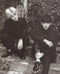 2016 Season's Greetings : Chinese Ver. - Baekhyun and Chanyeol