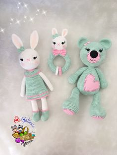 Amigurumi tavşan ayıcık