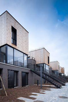 Des logements avec revêtement bois #homesweethome