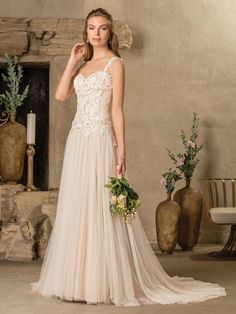 Wedding Dress 2297 Tierra by Casablanca Bridal - Search our photo gallery for pictures of wedding dresses by Casablanca Bridal. Find the perfect dress with recent Casablanca Bridal photos. A Line Wedding Dress Sweetheart, Tulle Wedding Gown, Wedding Dress Necklines, Bridal Party Dresses, Bridal Gowns, Wedding Dress Pictures, Wedding Dress Styles, Casablanca Bridal, Wedding Gown Gallery