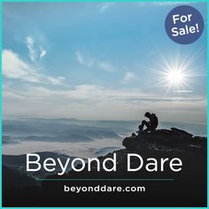 A sonorous name with a bold touch. BeyondDare is 2 real words name that combines them to create strong, dependable and trustful impression. It is disruptive, brave and impactful. Startup Incubator, Strong Names, Business Names, Dares, Brave, Coaching, How To Memorize Things, Entertaining