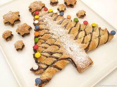 Árbol de hojaldre y Nutella, para Navidad - MisThermorecetas