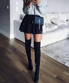Fall imágenes largas outfit fashion Boots y botas clothes 2019 de Fashion en mejores 101 winter x8qw5RXAX