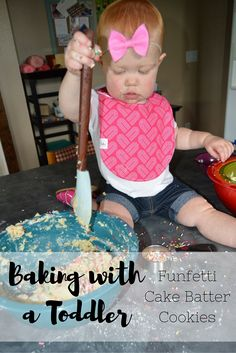 Baking with a Toddle
