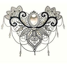 Best Lace Tattoo Design