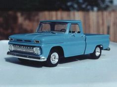 '64 Chevy pickup built by Lee Hartman.