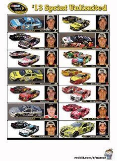 2013 NASCAR Sprint Cup Media Guide - Imgur