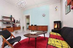 Arredamento in stile anni '50 - Salotto con arredi vintage