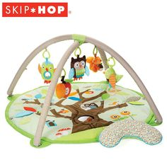 Skip Hop Speelkleed Treetop Friends Activity Gym | Baby & Koter