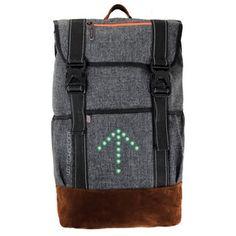 Cyklistický batoh se signálovým LED značením MoonRide