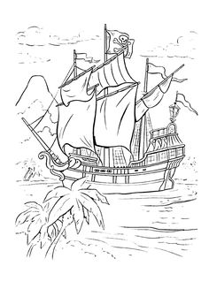 free pirate printables | ... and Bugs Coloring Pages For Kids. Free Online Printable Pictures