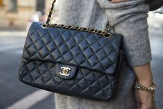 Quilted Chanel purse