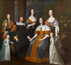 attr Edward Bower (British artist, Speaker William Lenthall and His Family 17th Century Fashion, 17th Century Art, Bonnie Prince, Costume, Art Uk, Tumblr, Historical Clothing, Traditional Art, Beauty And The Beast