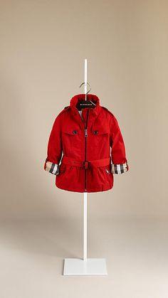 Peplum Parka Jacket | Burberry