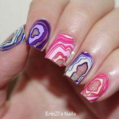 go scratch it nail wraps - geode. mani by erinzi. website for wraps: https://www.goscratch.it/products/geodes