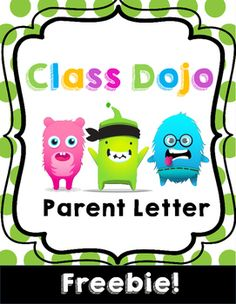 Class Dojo, classroom management, parent letter, beginning of the year.This letter is the perfect way to introduce Class Dojo to your classroom community! This letter explains how parents can get involved and will get the year started off right. Class Dojo is the perfect tool to help direct your classroom management.Enjoy!Laney Potts