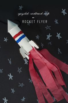 Upcycled Rocket Flyer
