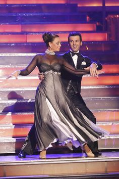 Tony Dovolani and Leah Remini