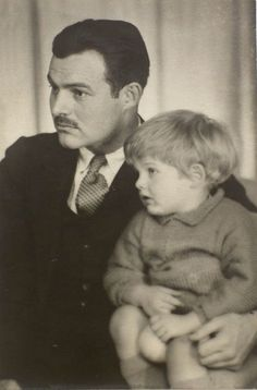 Ernest Hemingway...a reluctant father