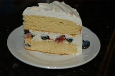 Very Berry Chantilly Cake (Adult Birthday Cake)   Satisfying Eats