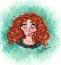 Merida (Head Shots by Princess-Beauty-Case @Tumblr) #Brave