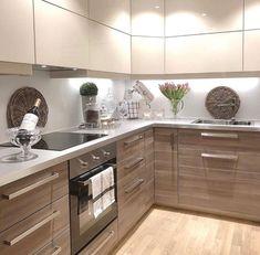 The kitchen is beautiful #beautiful #kitchen #kücheeinrichten #interiordesign