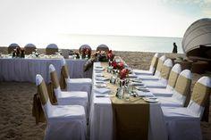 Beach Reception  Natadola Beach  Finau wedding photography