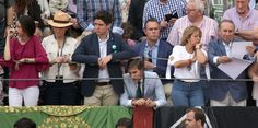 Froilán, the best bullfighting public relations after his grandfather  Froilán went with his mother, Infanta Elena, and his sister, Victoria, to a run in Aranjuez, where he again demonstrated why he is the grand heir of his grandfather Juan Carlos.