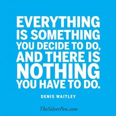 There is nothing you have to do.