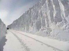 I-75 north of St Ignace, Michigan-winter 2014, by Laura Frawley