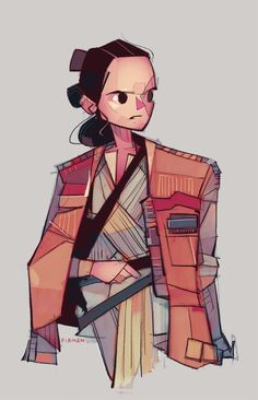 Rey-a-Day The Jacket by michaelfirman on DeviantArt Star Wars Rey, Meninas Star Wars, Superman, Star Wars Concept Art, Star Wars Girls, Star War 3, Science Fiction Art, Star Wars Collection, Psychedelic Art