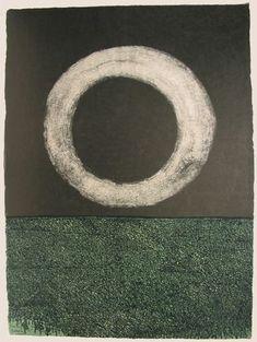 Moon (plate, folio 14) from Oda a Lorca Antonio Frasconi (American, born Argentina 1919