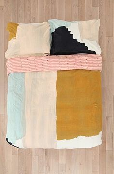 my brush stroke bedding at urban outfitters | Flickr - Photo Sharing!