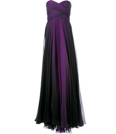 Farfetch - PAMELLA ROLAND ombre gown