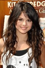 Image result for selena gomez side swept bangs