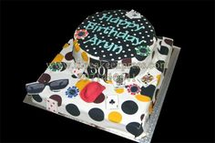 50TH BIRTHDAY CASINO THEME CAKE